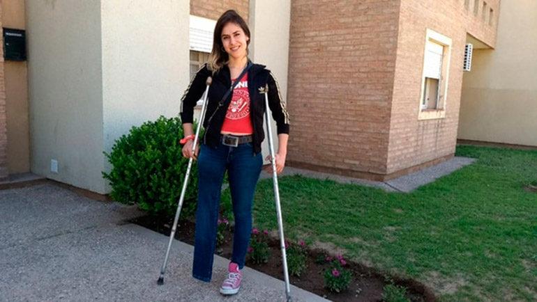 Pidió una pierna en Facebook y causó revuelo en Argentina
