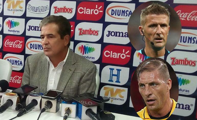 La opinión de Pinto por los árbitros que designó FIFA para el repechaje