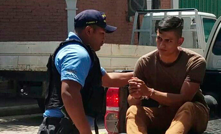 Arrestan al conductor que embistió a dos agentes de tránsito en Siguatepeque
