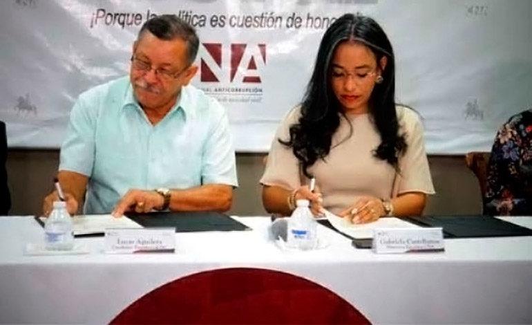 """El candidato presidencial de la DC firma el """"Manifiesto Morazánico"""""""