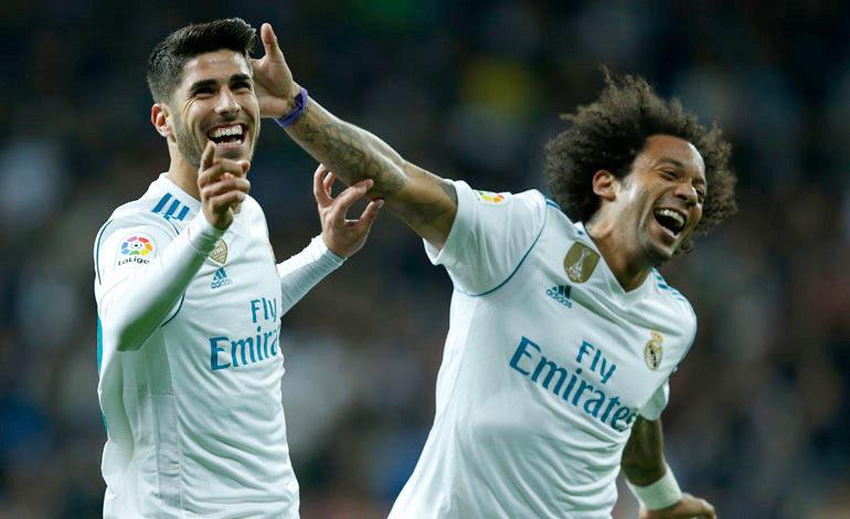 Real Madrid recupera la sonrisa goleando a Las Palmas