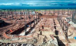 Avanza en un 35 % la construcción del nuevo aeropuerto Internacional de Palmerola