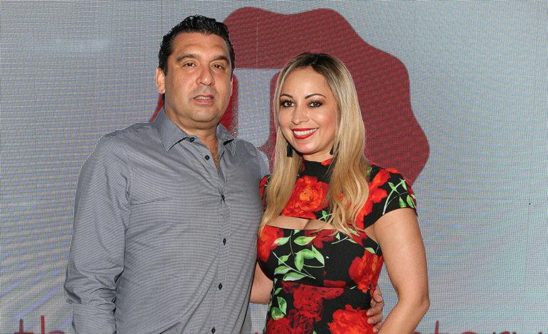 Carlos Echeverría y Vivian Echeverría.