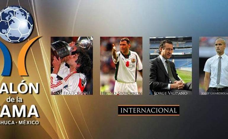 Valdano, Guardiola, Francescoli y Stoichkov al Salón de la Fama del Fútbol