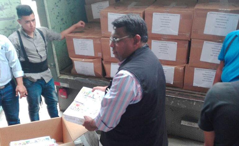 Llegan primeras papeletas electorales a bodega del TSE