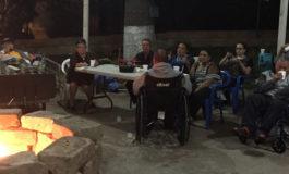 Natividad regresó para alegrar a los abuelos del Asilo en el Hospital San Felipe