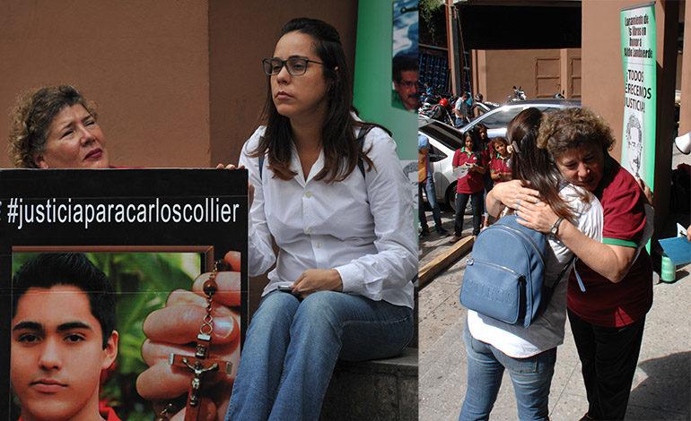 Madre de Carlos Collier exige agilidad en el proceso judicial