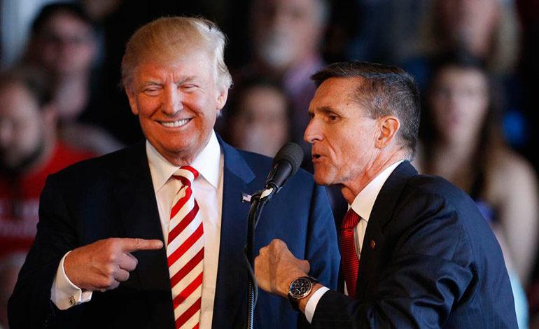 Trump critica al FBI y dice que por ahora no hay perdón para Flynn