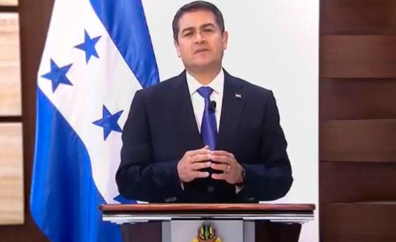 """Juan Orlando llama a diálogo de altura a """"Mel"""", Nasralla y a Luis Zelaya"""
