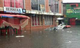 Lluvias dejan varios sectores inundados en el Caribe