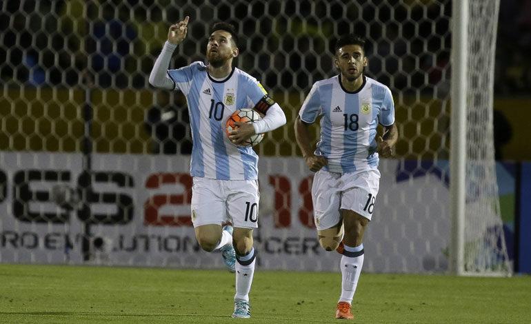 Messi no elige a Argentina entre las favoritas para ganar el mundial