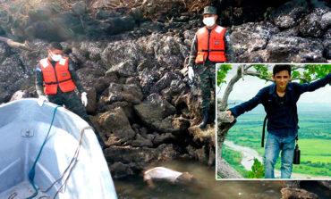 Tras naufragio encuentran cadáver de joven ahogado