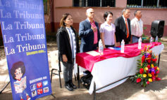 "LA TRIBUNA, Canal 10 y China Taiwán donan aula a ""cipotes"" de La Tigra"