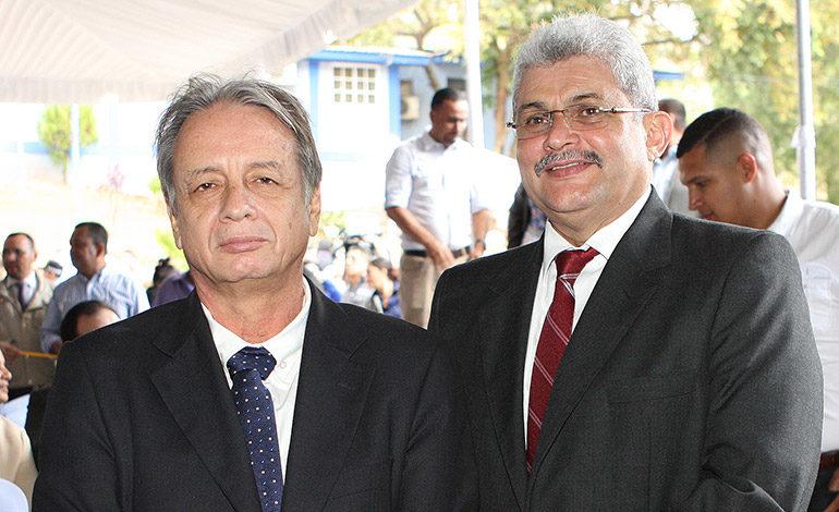 Manuel Membreño y Mario Zerón.