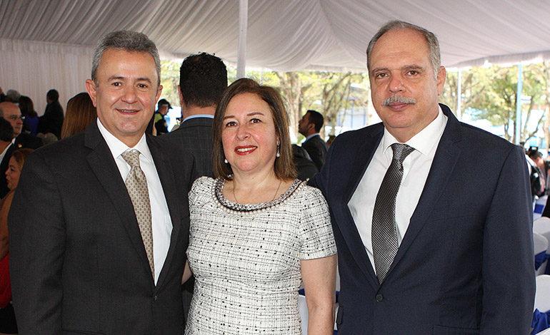 Tulio del Cid, Yolanda Quilico, Enrique Zablah.