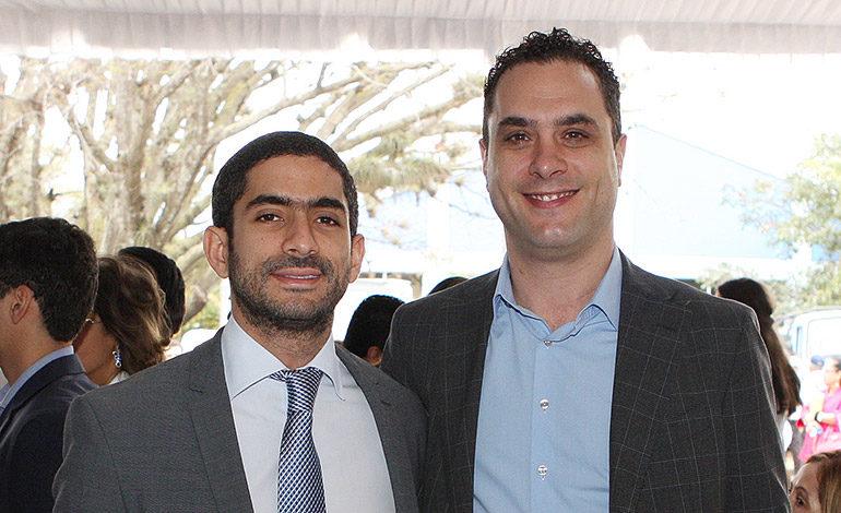 Johnny Kafati y Antonio Garofano.