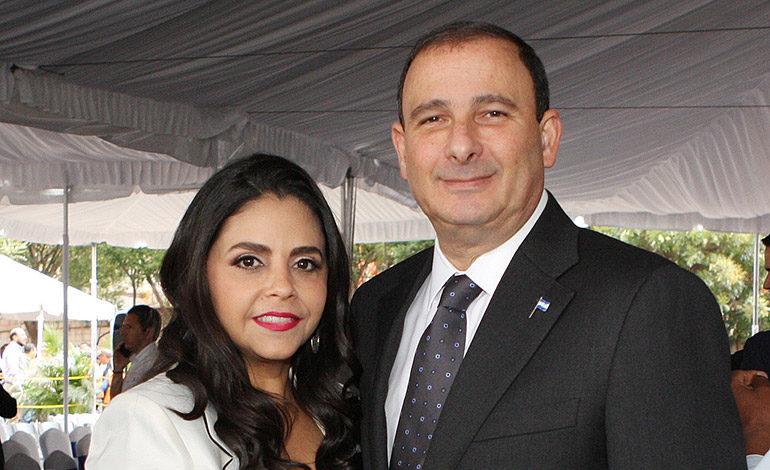 Ana Sikaffy y Juan Carlos Sikaffy.
