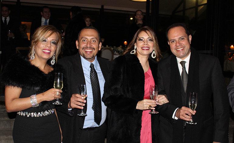 Eva González, German Irías, Karen  Armijo, Jesús Mejía