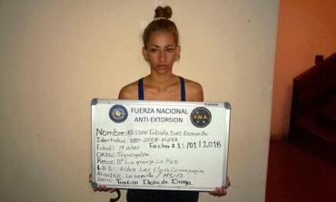 Arrestan a una joven por tráfico de drogas en Comayagua