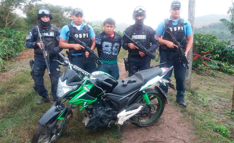Arrestan al cabecilla de una banda delictiva entre los más buscados en Honduras