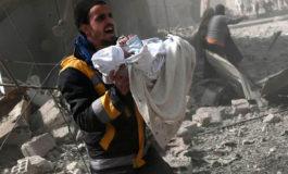 Sube a 200 el número de civiles mueren en Siria en bombardeos del régimen
