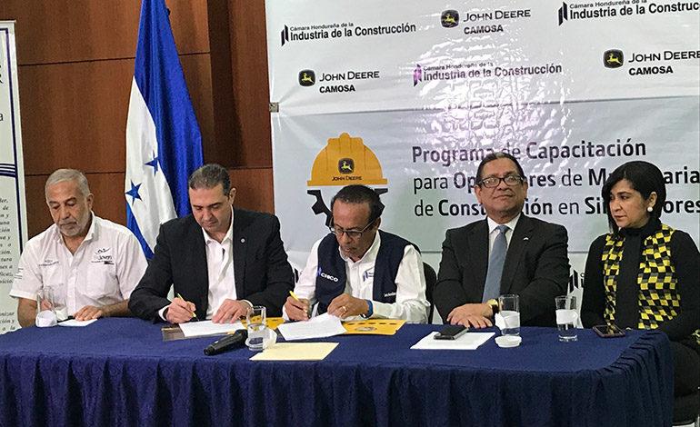 Honduras contará con obreros capacitados en maquinaria pesada