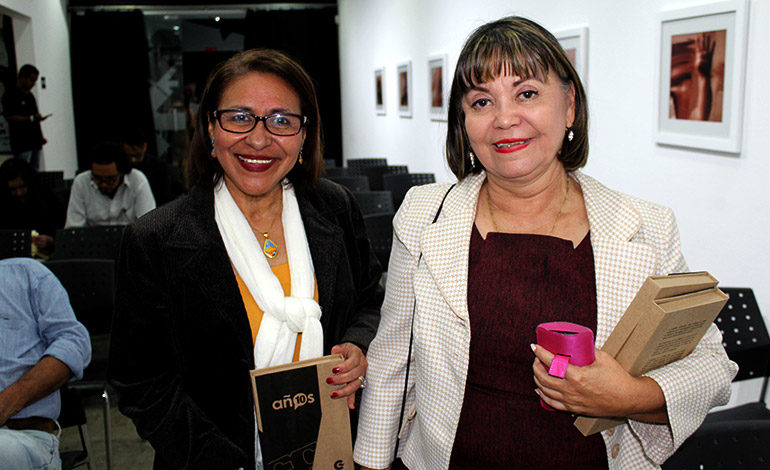 Marina Osorto y Ney Edelmira Reyes.