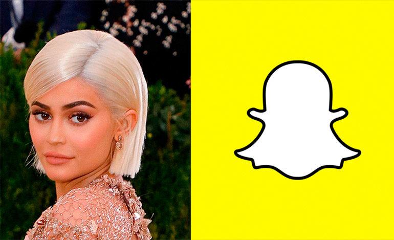 Snapchat pierde 1.300 millones de dólares tras un tuit de Kylie Jenner