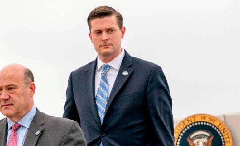 Renuncia funcionario de Casa Blanca tras ser acusado de maltratar a exmujeres