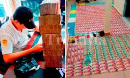"""Más de L300 millones dejan los """"caletazos"""" del crimen organizado"""