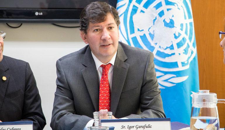 """Igor Garafulic: """"Estoy optimista que a finales de esta semana inicie el diálogo nacional"""""""
