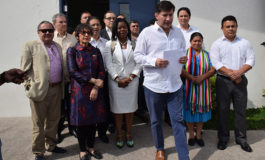 Entre Bachelet, Zedillo y Cerezo estará el mediador
