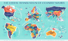 Conoce el mapa que te dice el significado de cada país en el Mundo