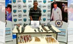 Capturan a sexagenario en posesión de armas en Comayagua
