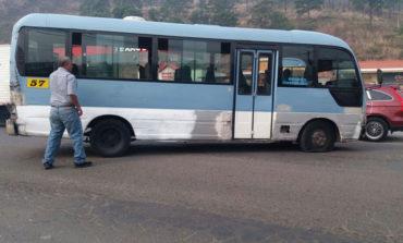 Tirotean unidad del transporte en Comayagüela