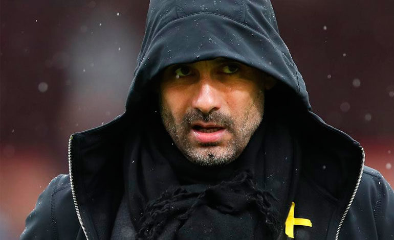 UEFA abre expediente disciplinario a Guardiola por conducta inapropiada
