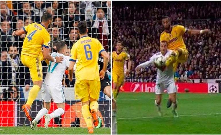 """""""L'Équipe"""" dice que el penalti del Real Madrid es justificado"""