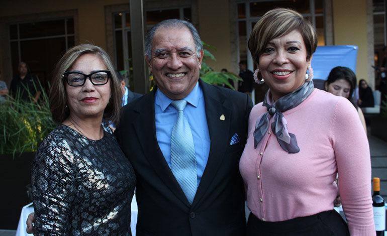 Josefina Pérez, Raúl Graugnard, Blanca Moreno.