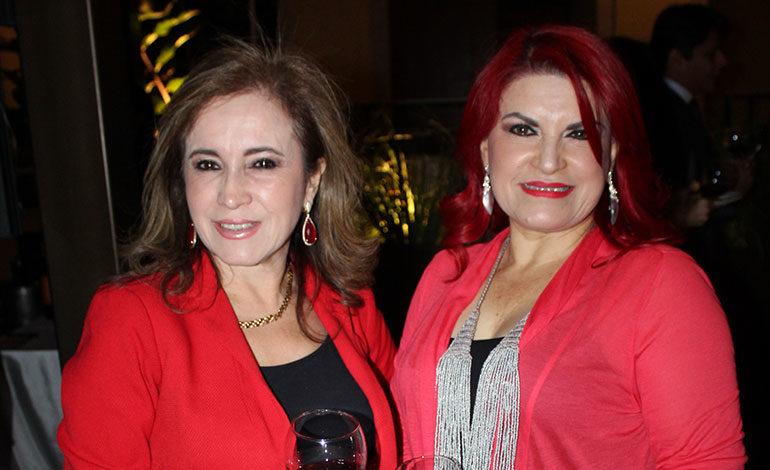 Miriam Fernández y Suyapa Sabillón.