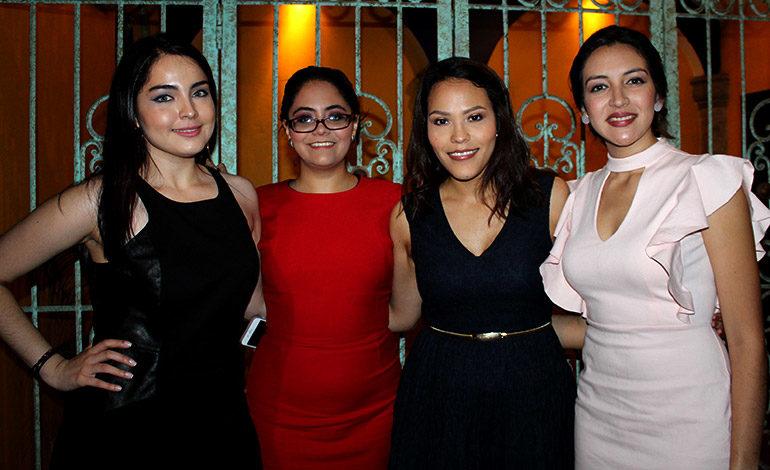 Gabriela Maradiaga, Miroslava Servellon, Lourdes Maldonado, Fiorella Cruz.