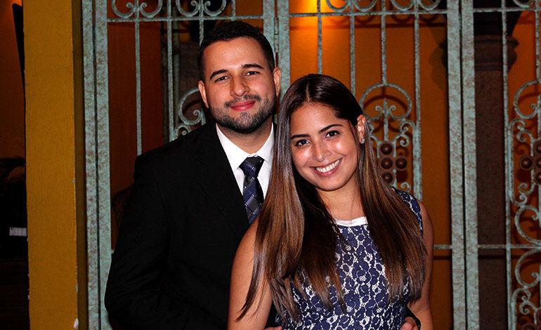 Jairo Cruz y Maria Cárdenas.