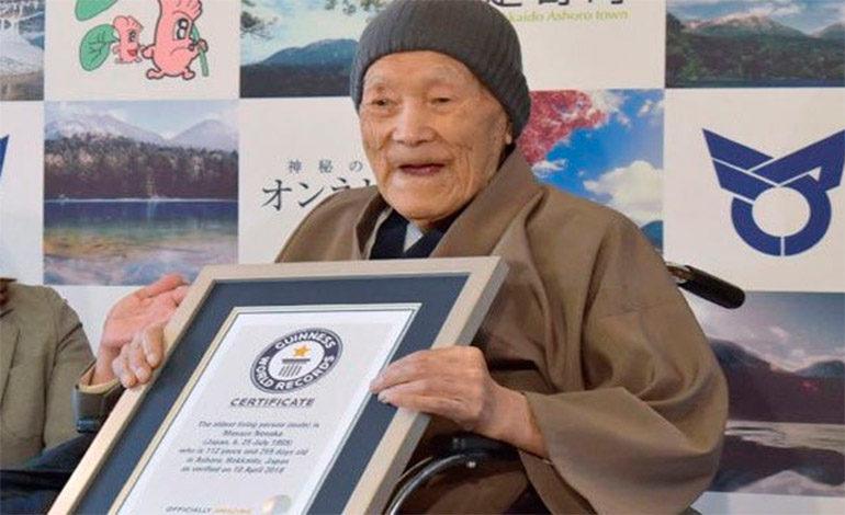 Un japonés de 112 años el hombre más viejo del mundo