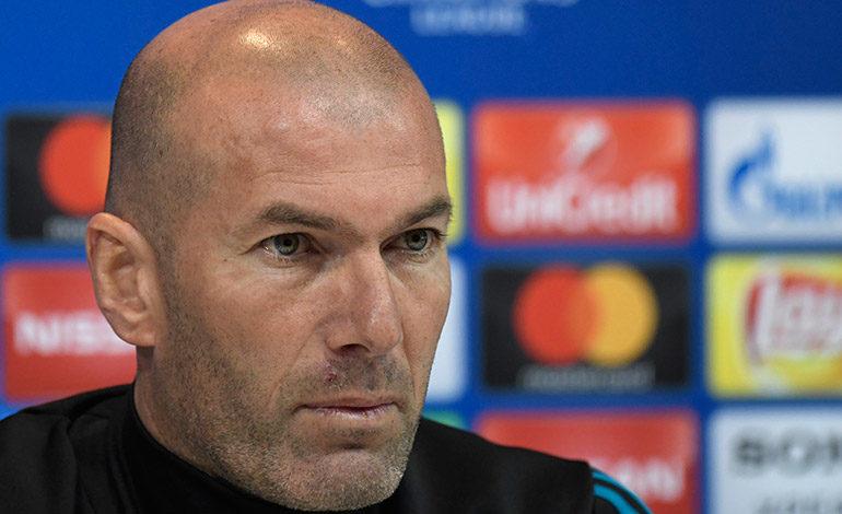 """Zinedine Zidane: """"Es una vergüenza cuando se habla de robo"""""""