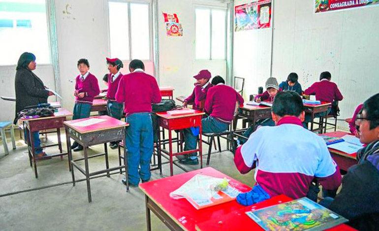 Aumento salarial paraliza sistema educativo