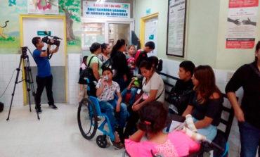 Atienden 40 niños diarios con asma y neumonía