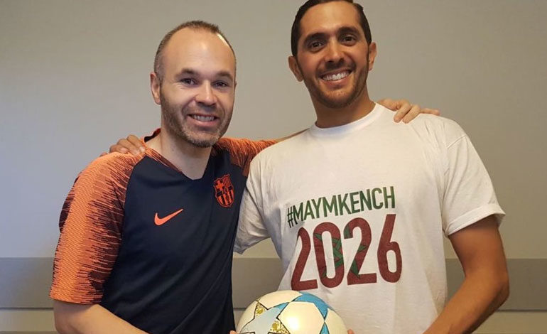 Bloguero marroquí busca a 26 estrellas para apoyar candidatura al Mundial