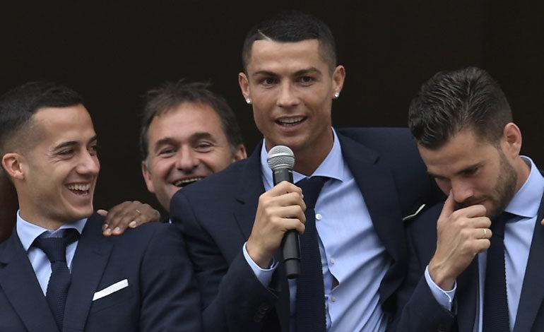 """Cristiano: """"Es un momento inolvidable, hemos hecho historia"""""""
