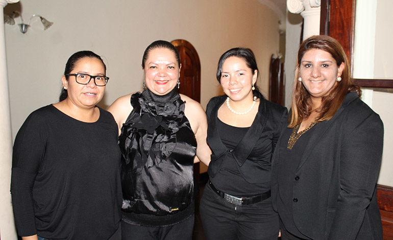 Claudia Sibrian, Azucena Padilla, Heydi Rubio, Karla Suazo.