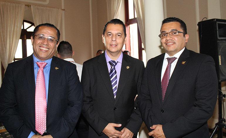 Dagoberto Rodríguez, Elan Reyes, Edwin Romero.