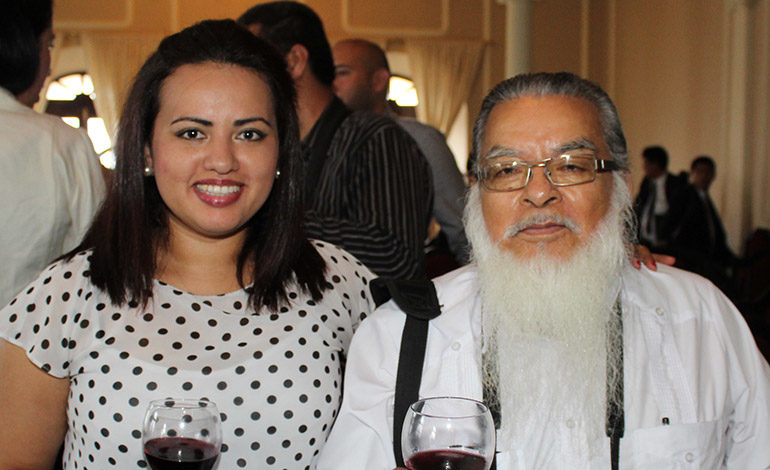 Cynthia Salazar y Wilfredo Salazar.